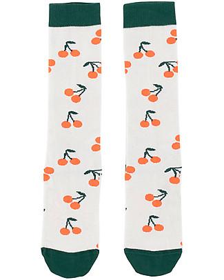 "Tiny Cottons High  Socks  ""Cherries - Cotton  Socks"