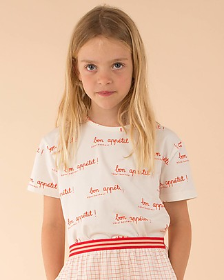 Tiny Cottons Hotel Bonheur T-Shirt - Elasticated Pima Cotton T-Shirts And Vests