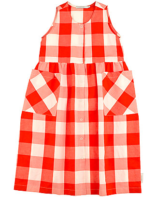 Tiny Cottons Huge Check Tank Dress – Cotton and Linen Dresses