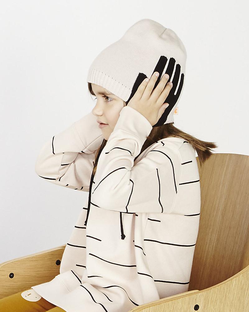 e93737704af3 Tiny Cottons Lines Fleece Oversized Sweatshirt