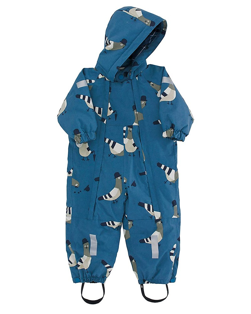 "a72127a83 Tiny Cottons Snow One-piece ""Pigeons"""