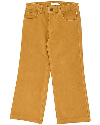 Tiny Cottons Solid Corduroy Pants, Mustard Trousers