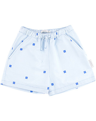 Tiny Cottons Squares Dots Short – 100% Cotton Shorts