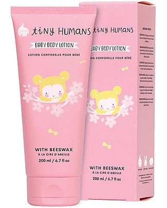 Tiny Humans Baby Body Lotion, Beeswax - 200 ml Baby Creams and Oils