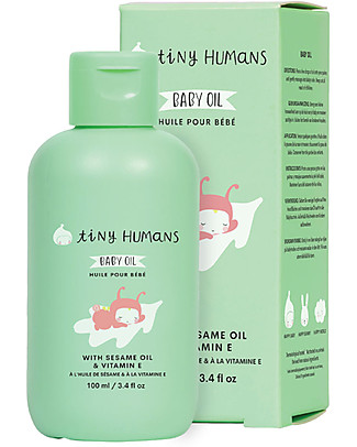 Tiny Humans Tiny Humans Baby Oil, Sesame Oil and Vitamin E - 100 ml Body Lotions And Oils