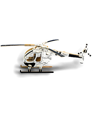 ToDo Cardboard Construction Kit Student Level, Copter 61 pieces - Eco-friendly fun! Creative Toys