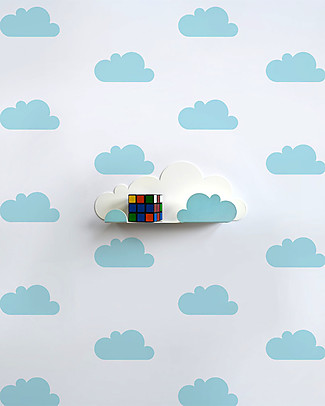 Tresxics Fabric Wall Stickers - Clouds - Light Blue Wall Stickers