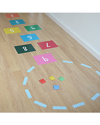 Tresxics Hopscotch Game Vinyl Stickers, Multicoloured  Room Decorations