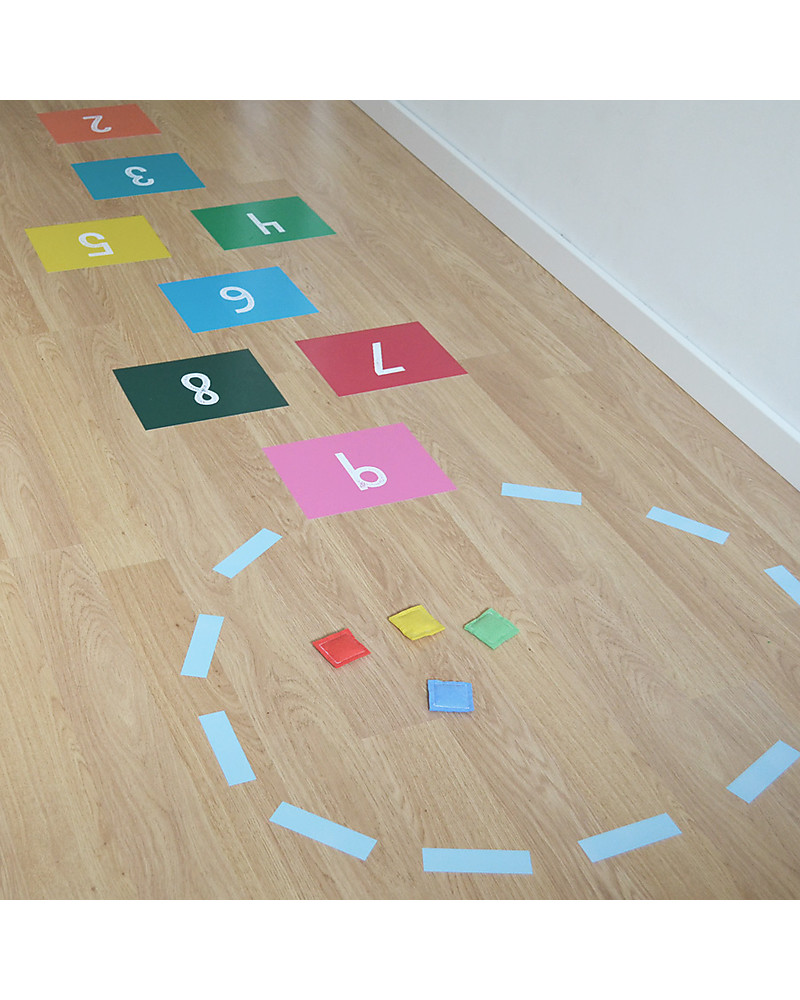 Stickers Per Bambini.Tresxics Hopscotch Game Vinyl Stickers Multicoloured Unisex