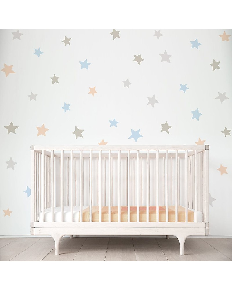 Stickers Per Bambini.Tresxics Removable Wall Stickers Dots Soft Colours 44