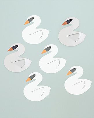 Tresxics Swan Wall Hooks & Stickers Hangers & Hooks