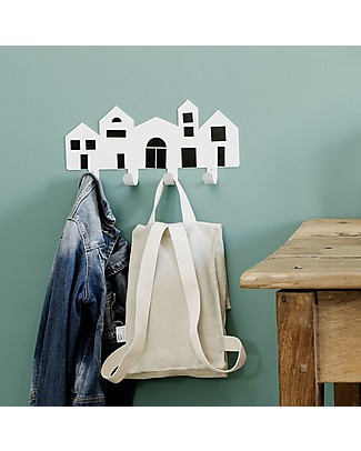 Tresxics Wall Hanger Village - With Interchangeable magnets to create your own designs! Hangers & Hooks
