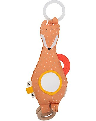 Trixie Activity toy, Mr Fox - Stimulates Sight, Hearing and Touch Newborn Toys