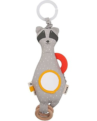 Trixie Activity toy, Mr Racoon - Stimulates Sight, Hearing and Touch Newborn Toys