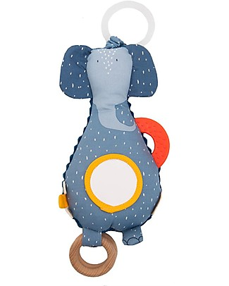 Trixie Activity toy, Mrs Elephant - Stimulates Sight, Hearing and Touch Newborn Toys