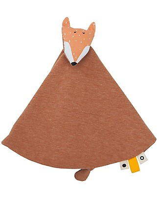 Trixie Baby comforter, Mr Fox - Blanket, Animal Toy and Dummy Clip! Doudou & Comforters