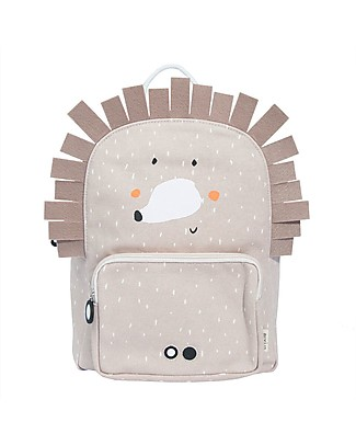 Trixie Backpack for Preschool, Mrs HedgeHog - Cotton (23x12x31cm) Small Backpacks