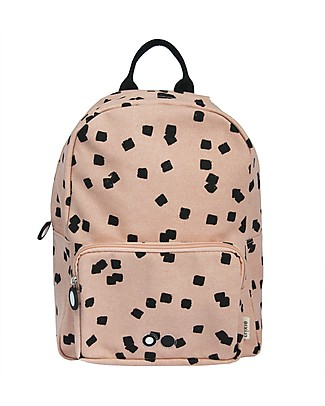 Trixie Backpack for Preschool, Squares - Cotton (23x12x31cm) Small Backpacks