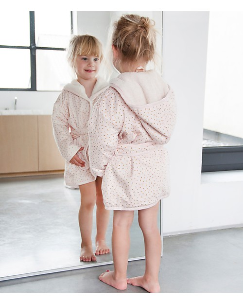 Trixie Bathrobe for Babies Aged 2-3 years, Moonstone - Cotton Towels And Flannels