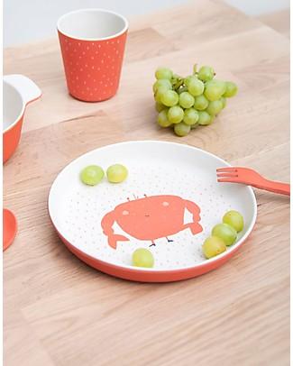 Trixie Biodegradable Plate, Mrs Crab Bowls & Plates