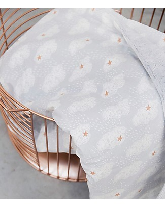 Trixie Fleece Baby Blanket, Clouds - 75 x 100 cm Blankets
