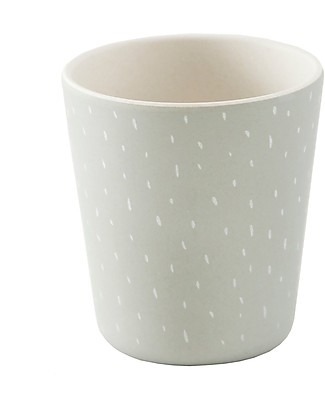Trixie Lightweighted Cup in Bamboo, Mr Racoon - Suitable for Small Hands Cups & Beakers
