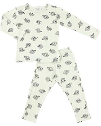 Trixie Long Sleeved Pyjiama 2 pieces, Blowfish - 100% Organic Cotton Pyjamas