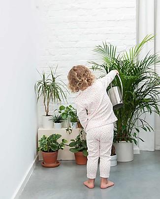 Trixie Long Sleeved Pyjiama 2 pieces, Moonstone - 100% Organic Cotton Pyjamas