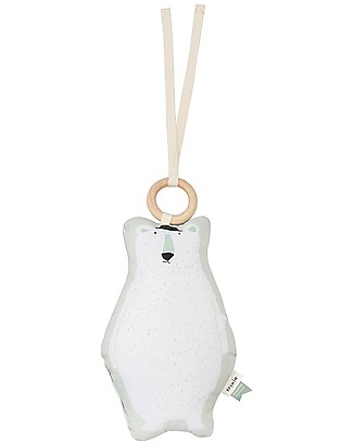 Trixie Music mobiles, Mr Polar Bear - 100% cotton Rattles