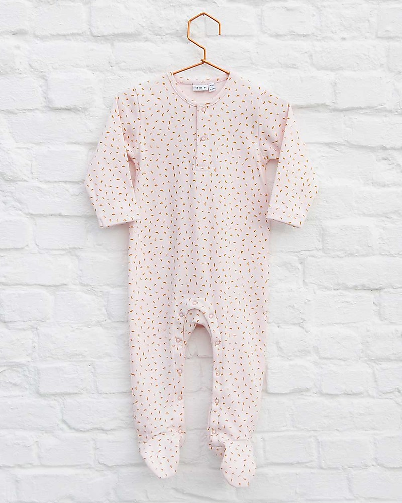 e4a1fb77b Trixie Onesie with Feet, Moonstone - 100% Organic Cotton unisex ...