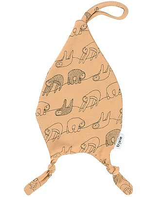 Trixie Pacifier Comforter, Silly Sloth - Cotton Doudou & Comforters
