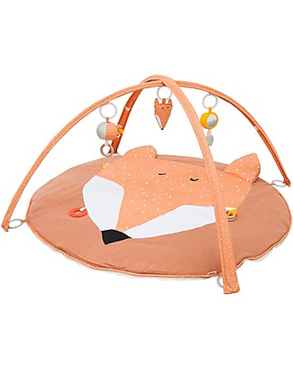 Trixie Play Mat with Arches, Mr Fox - Many Activities! Playmats
