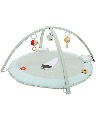 Trixie Play Mat with Arches, Mr Polar Bear - Many Activities! Playmats