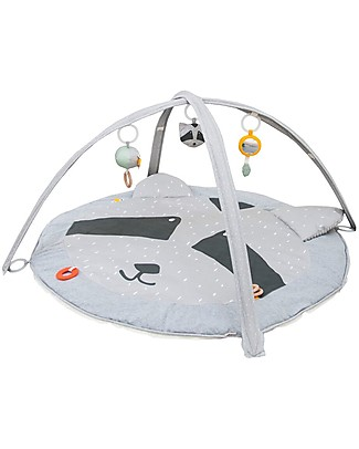 Trixie Play Mat with Arches, Mr Racoon - Many Activities! Playmats
