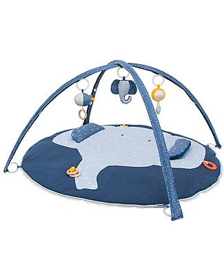 Trixie Play Mat with Arches, Mrs Elephant - Many Activities! Playmats