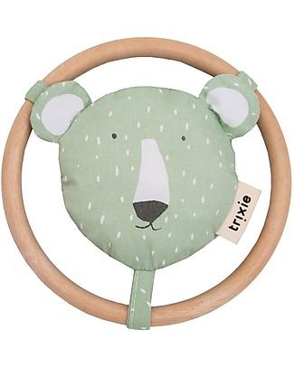 Trixie Rattle for Babies, Mr Polar Bear Rattles