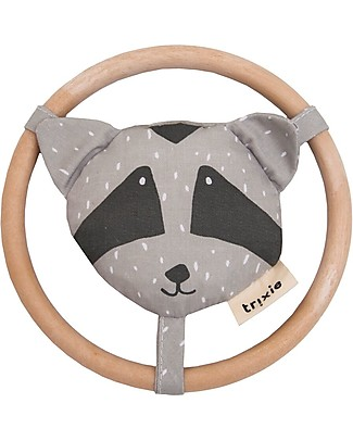 Trixie Rattle for Babies, Mr Racoon Rattles