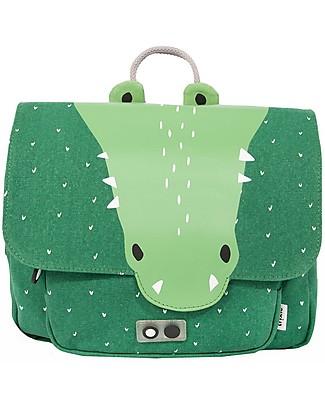 Trixie Satchel, Mr Crocodile - Cotton (29x10x25cm) Large Backpacks