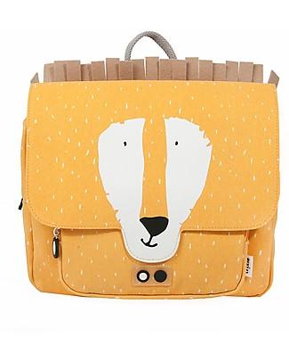 Trixie Satchel, Mr Lion - Cotton (29x10x25cm) Large Backpacks