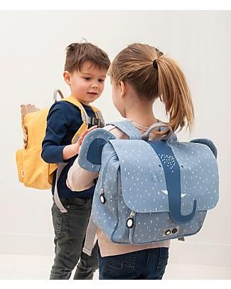 Trixie Satchel, Mrs elephant - Cotton (29x10x25cm) Large Backpacks