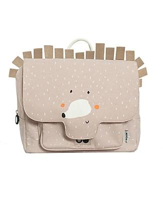 Trixie Satchel, Mrs Hedgehog - Cotton (29x10x25cm) Large Backpacks