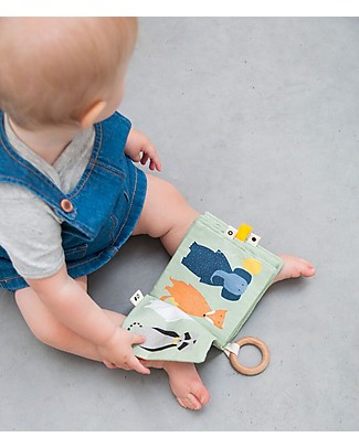 Trixie Soft Toy Book - 4 Animals to Discover! Books