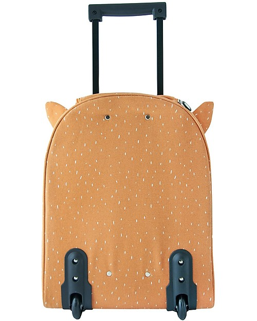 Trixie Travel Trolley, Mr Fox - Cotton (34x15x45cm) Travel Bags