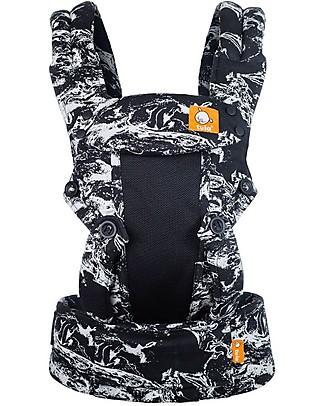 Tula Free-to-Grow Baby Carrier, Marble Coast - From 3.2 Kg, Grows with your Baby! Baby Slings