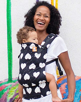 Tula Free-to-Grow Baby Carrier, Wild Hearts - From 3.2 Kg, Grows with your Baby! Baby Carriers