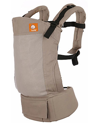 Tula Standard Baby Carrier, Overcast - From 7 Kg, For Children who love Cuddles! Baby Carriers