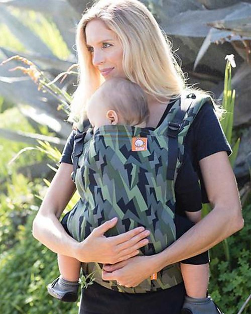Tula Toddler Carrier Canvas, Black Lightning - From 11 Kg, For Children who love Cuddles! Baby Carriers