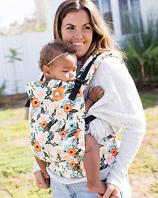 Tula Toddler Carrier Canvas, Marigold - From 11 Kg, For Children who love Cuddles! Baby Carriers