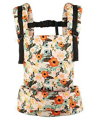 Tula Toddler Carrier Canvas, Marigold - From 11 Kg, For Children who love Cuddles! Baby Slings