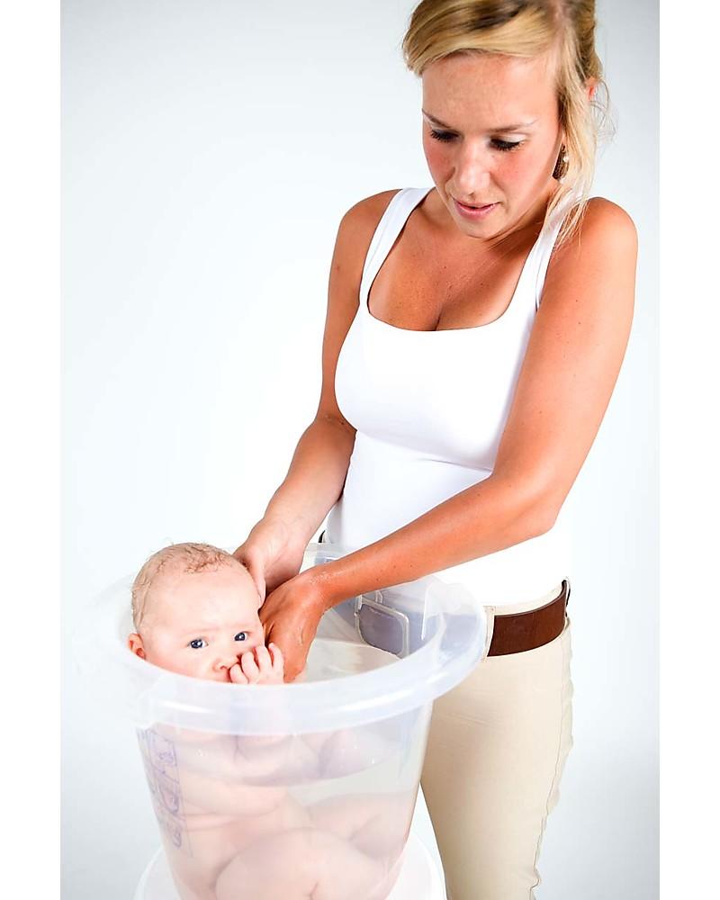 Tummy Tub Tummy Tub® Bath for babies - Pink - Ergonomic and anatomic ...